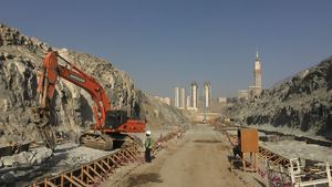 Detailed surveying of Jabal Omar project